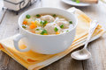 Soup With Meatballs, Potatoes And Carrots Stock Images - 42113594