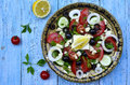 Traditional Greek Salad. Royalty Free Stock Image - 42117826