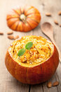 Pumpkin Risotto Royalty Free Stock Photo - 42129845