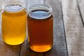 Two Jars Of Honey Royalty Free Stock Images - 42152829