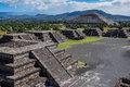 View Of Teotihuacan Ruins, Aztec Ruins, Mexico Royalty Free Stock Photos - 42155168