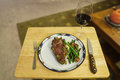 Steak Dinner Stock Image - 42156241