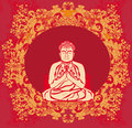 Buddha - Abstract Card Stock Images - 42168474