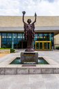Federal Reserve Bank Statues In Kansas City Royalty Free Stock Photos - 42182458