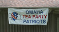 Omaha Tea Party Patriots Sign At Tea Party Rally Stock Image - 42193881