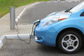 Electric Car Charging Stock Images - 42200814