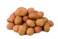Fresh Potatoes On A White Background Royalty Free Stock Photo - 42202715