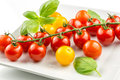 Closeup Of Colorful Tomato On The Vine Stock Image - 42214951