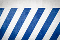 Blue Diagonal Stripes On A Wall Stock Images - 42219894