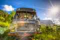 Abandoned Bus Royalty Free Stock Photography - 42226047
