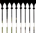 Pretty Cottage-Style White Picket Fence Stock Photography - 42242062