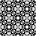 Black And White Lace Pattern Royalty Free Stock Photos - 42243458