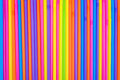 Drinking Straws As Colorful Background. Royalty Free Stock Photo - 42256565