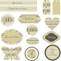 Scrapbooking Elements Royalty Free Stock Photo - 42263695