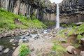 Svartifoss Waterfall, Iceland Royalty Free Stock Photography - 42264107
