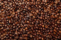 Coffee Beans Background Close Up Royalty Free Stock Photos - 42264918