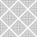 Design Seamless Warped Diamond Pattern Royalty Free Stock Images - 42266299