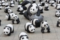 1600 Pandas World Tour In Hong Kong Royalty Free Stock Photo - 42296775