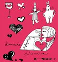 Valentine S Collection Royalty Free Stock Photos - 4232648