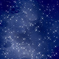 Magic Background Blue Scales / Stars Royalty Free Stock Photography - 4234897
