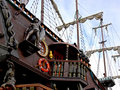 Old-fashioned Ship Royalty Free Stock Photography - 4235727