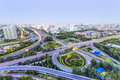 Beijing Overpass At Night Royalty Free Stock Images - 42300939