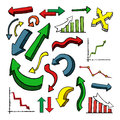 Colorful Arrows Stock Images - 42313674