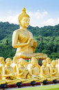 Buddha Status At Temple Thailand . Stock Images - 42327794