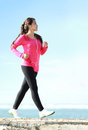 Brisk Walking On The Beach Royalty Free Stock Photography - 42330197