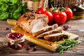 Roasted Pork Loin Royalty Free Stock Photos - 42337308