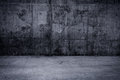 Grungy Concrete Wall And Floor As Background Stock Photos - 42341603