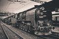 Old Steam Locomotive Royalty Free Stock Photography - 42351257