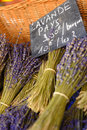 Lavender In Market In Gordes Provence Royalty Free Stock Image - 42363856