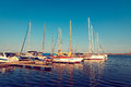 BOATS IN PORT Royalty Free Stock Photography - 42390287