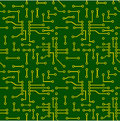 Seamless Pattern Of PCB Vector Stock Images - 42390294