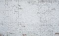 Cracked White Grunge Brick Wall Textured Royalty Free Stock Image - 42395316