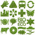 Bio & Ecology Icon Set Royalty Free Stock Photo - 4244035