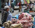 Women Selling On The Street Of La Paz Royalty Free Stock Photos - 42407538