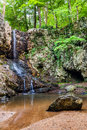 Waterfall In Mountains Near Atlanta Royalty Free Stock Images - 42407629
