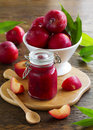 Jam From Plums Royalty Free Stock Images - 42465679