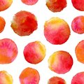 Round Water Color Background .vector Illustration Stock Image - 42475891