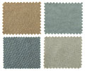 Set Of Fabric Swatch Samples Texture Royalty Free Stock Photography - 42486767