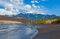 Great Sand Dunes Royalty Free Stock Photos - 42487558