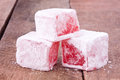 Turkish Delight With Rose Flavour Stock Images - 42490184