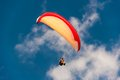 Hang Gliding In The Sky Royalty Free Stock Photography - 42491827