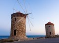Famous Landmark Of Rhodes Island Greece Royalty Free Stock Photo - 42497255