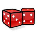 Dices Royalty Free Stock Photo - 4258095