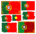 Portugal Flag Collection Vector Stock Photos - 42508723