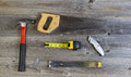 Basic Hand Tools For Home Repair Stock Photography - 42514062
