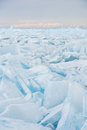Field Of Cracked Ice Royalty Free Stock Photos - 42522868